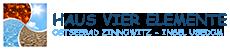 Vier Elemente – Usedom Logo